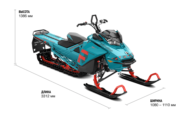 Freeride STD 154″ 850 E-TEC SHOT