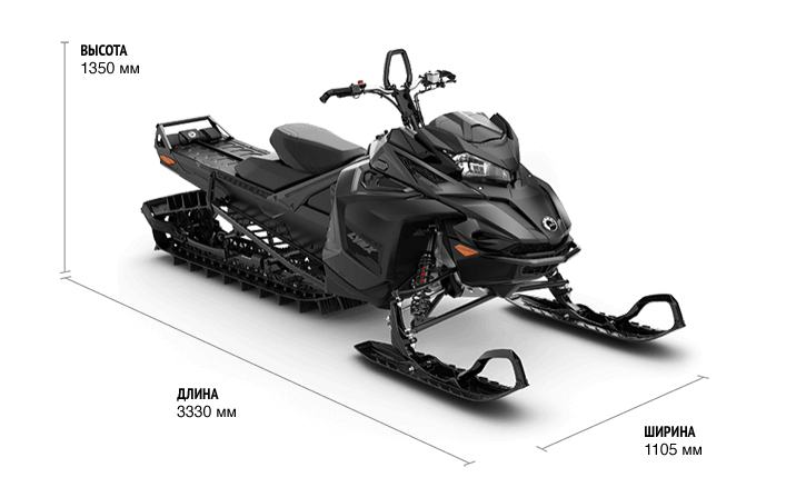 Boondocker DS 4100 850 E-TEC Black Edition SHOT